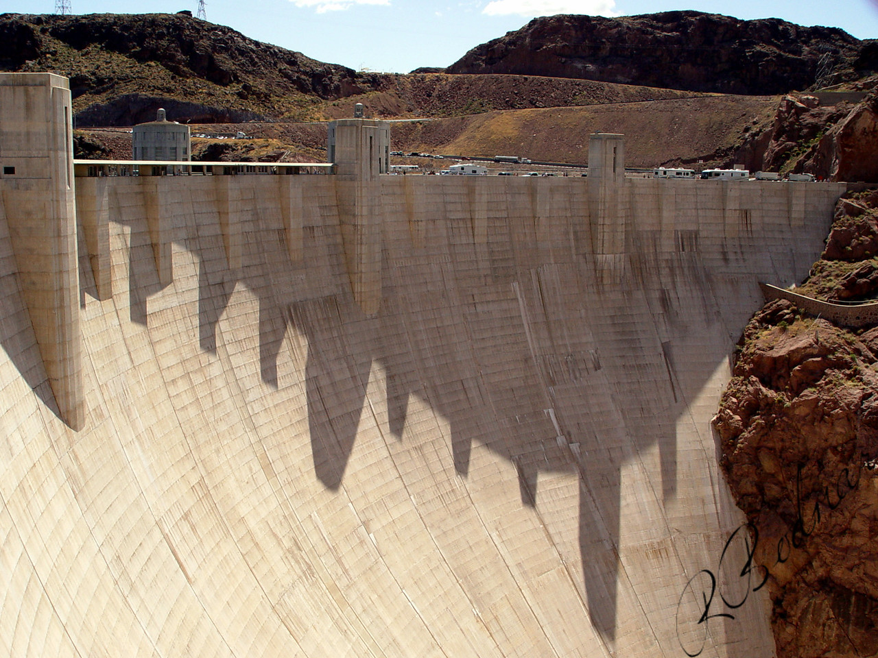 Photo By Robert Bodnar........................................................Hoover Dam