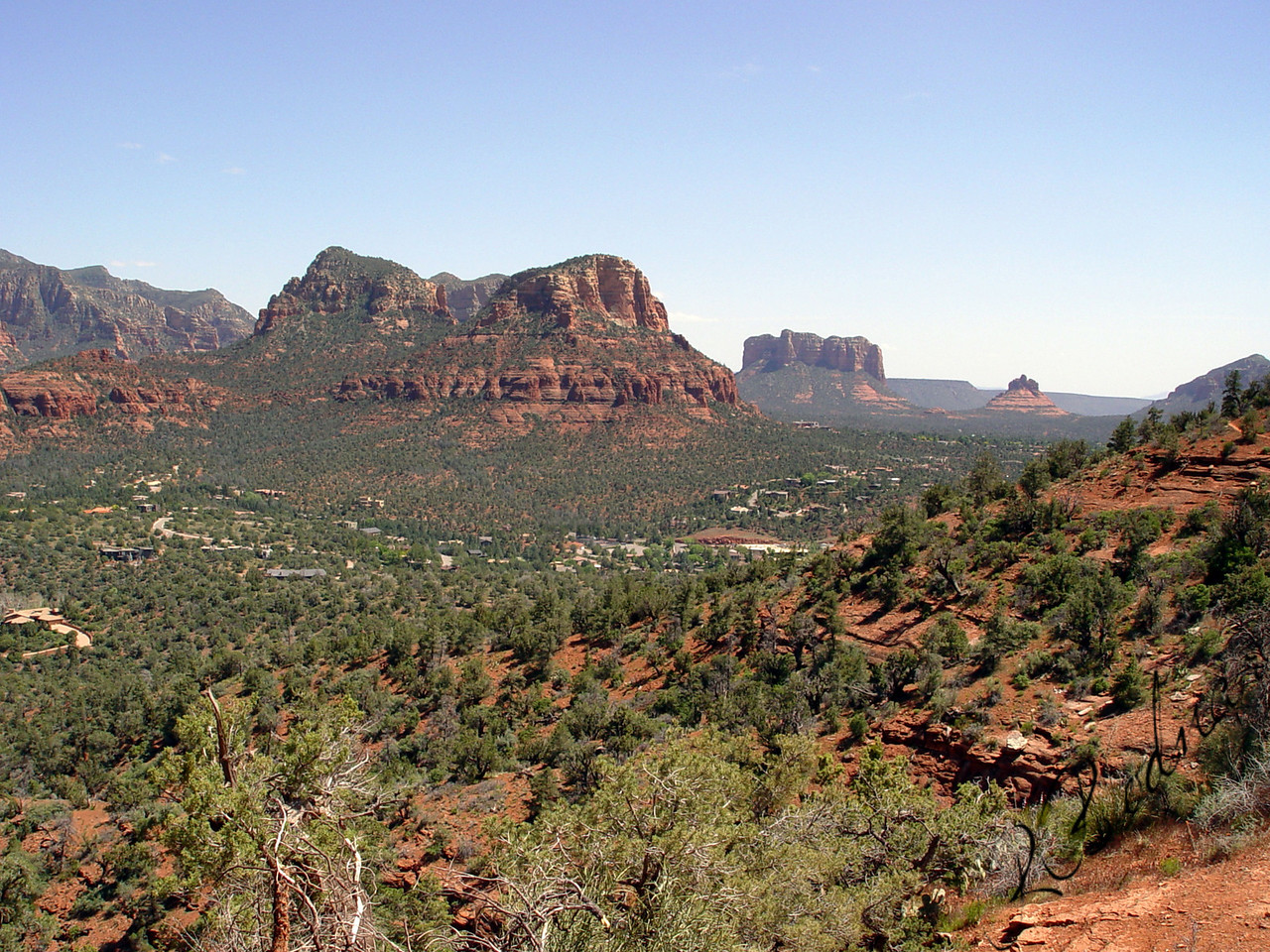 Photo By Robert Bodnar.........................................Landscape from Sedona AZ Area