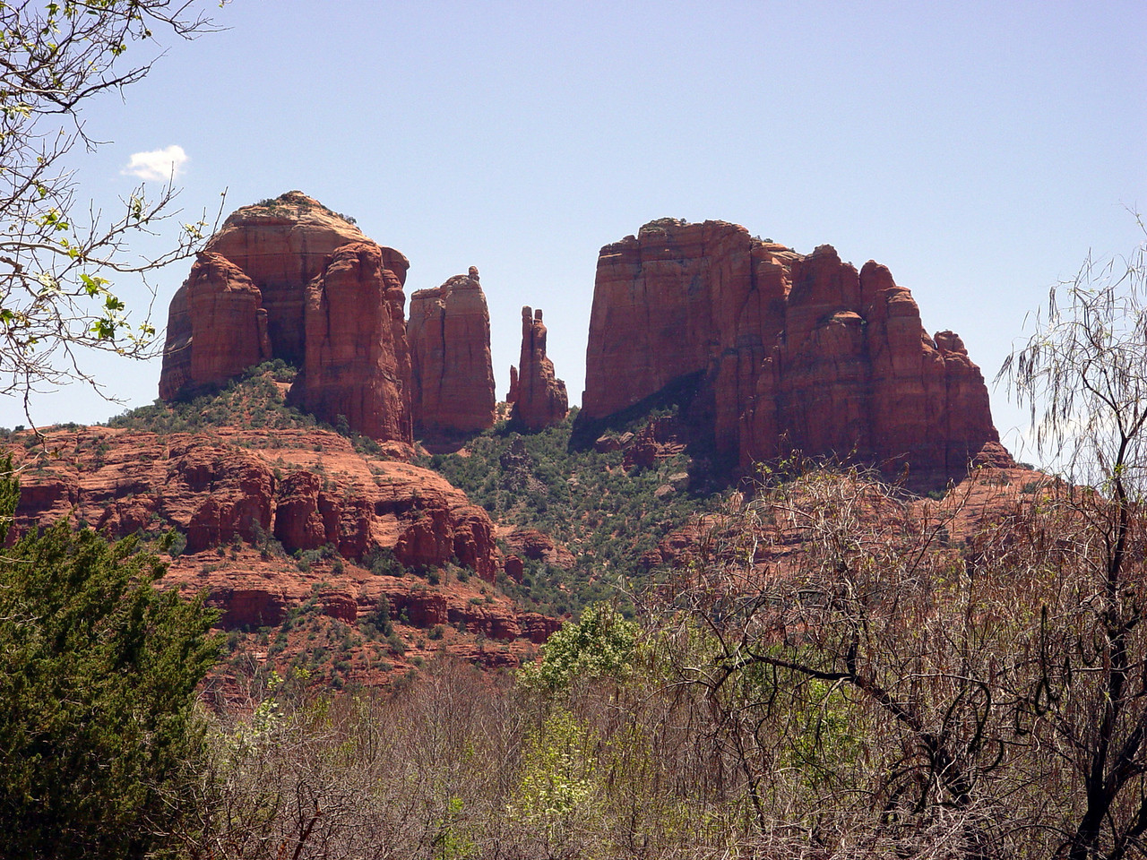 Photo By Robert Bodnar...................................Cathedral Rock, Sedona AZ