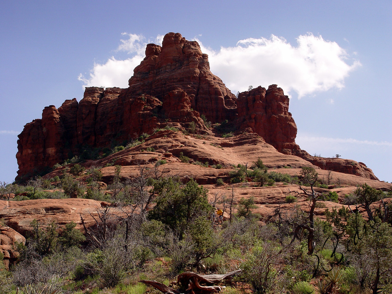 Photo By Robert Bodnar............................. Back View of Bell Rock