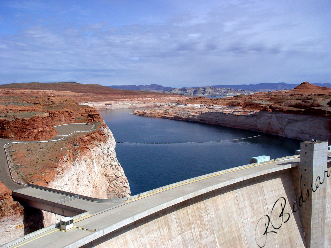 Photo By Robert Bodnar...........................................Glen Canyon Dam
