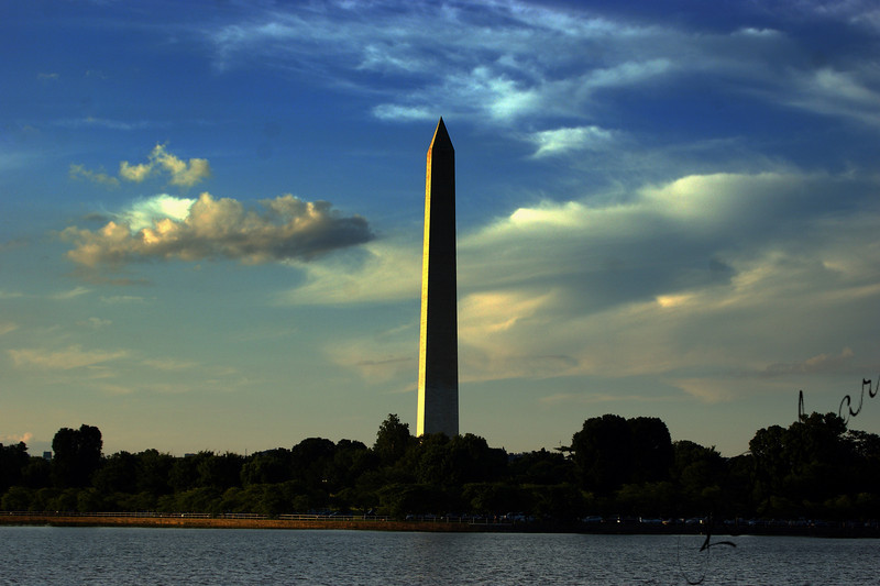 Photo By Robert Bodnar.................Washington Monument