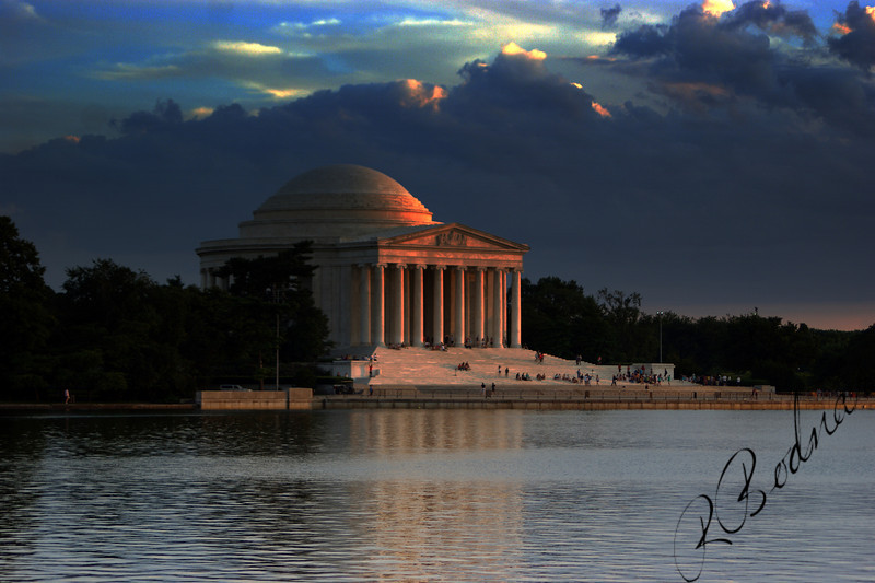 Photo By Robert Bodnar.............The Thomas Jefferson Memorial
