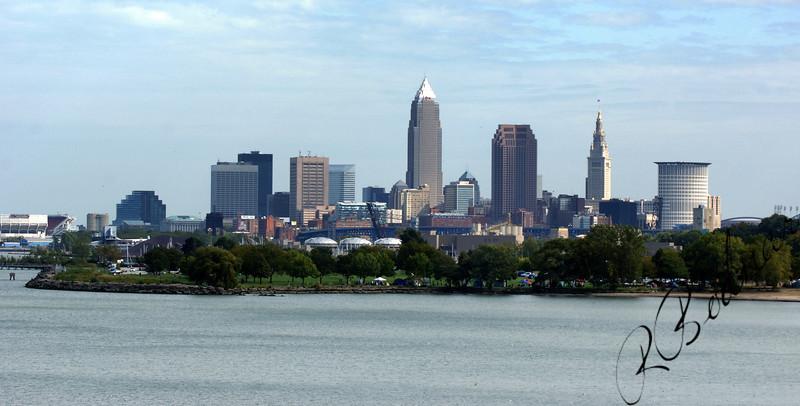 Photo By Robert Bodnar....................Cleveland Skyline
