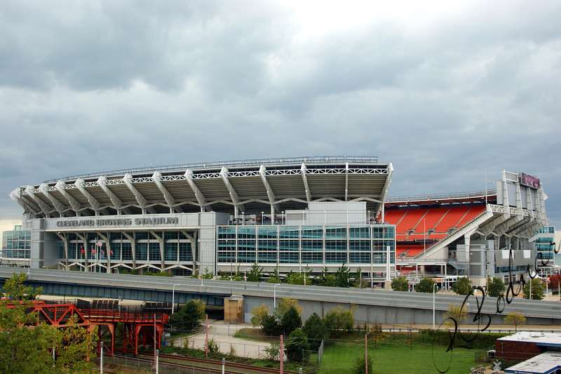 Photo By Robert Bodnar...........Cleveland Browns Stadium