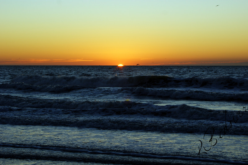Photo By Robert Bodnar...................Morning Sun Rise, Myrtle Beach