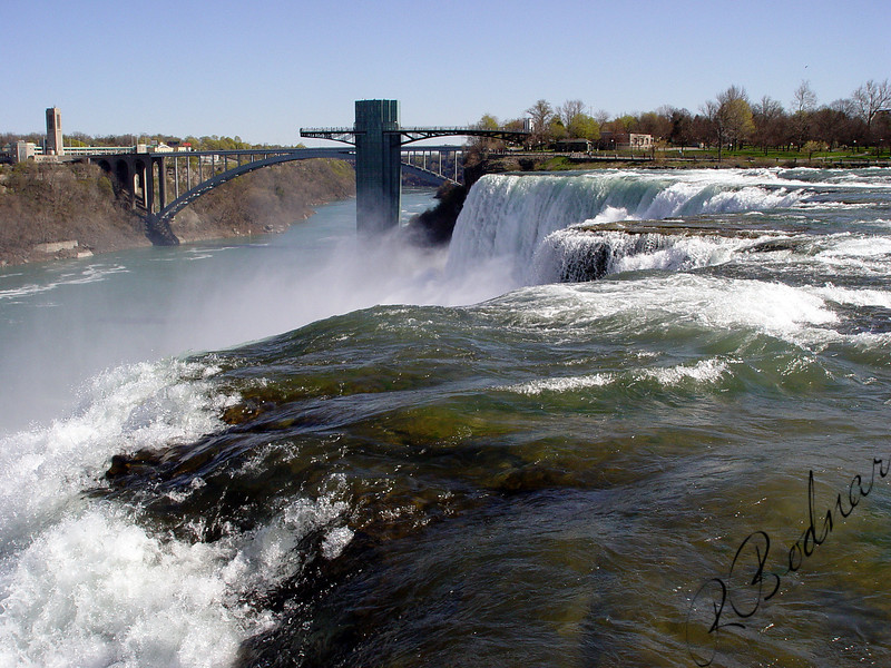 Photo By Robert Bodnar..................Up Close to American Falls, Niagara Falls NY.