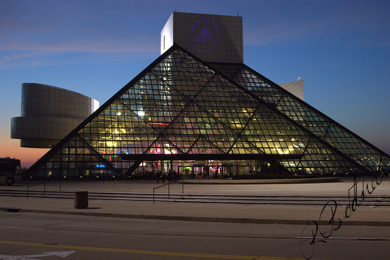 Photo By Robert Bodnar.....................Cleveland's Rock & Roll Hall of Fame