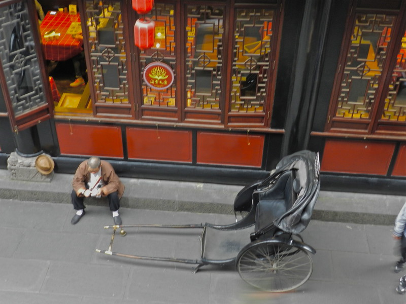 Rickshaw Rides Down The Hutongs in Beijing