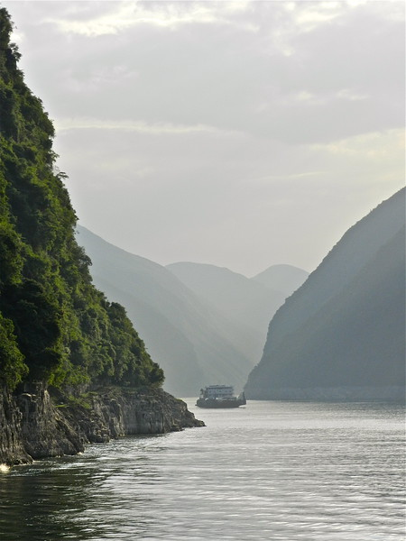 Misty Morning on the Yangtze River