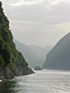 Misty Morning on the Yangtze River