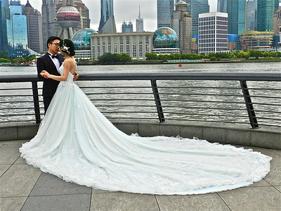 Shanghai Wedding on The Bund