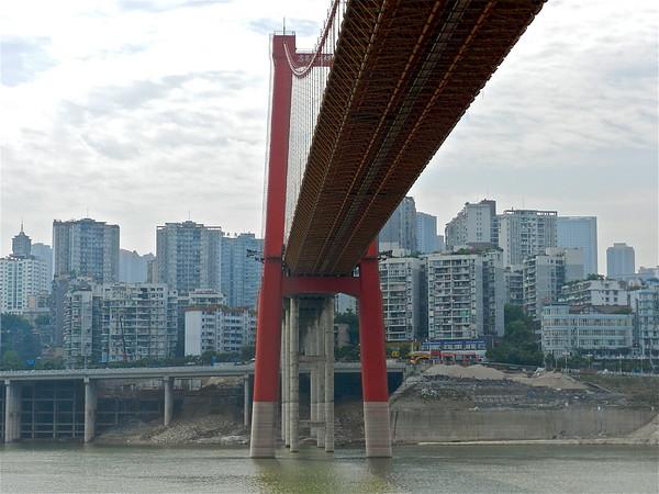 City  Views on The Yangtze River