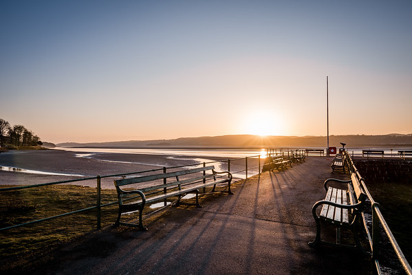 Arnside Pier at Sunset