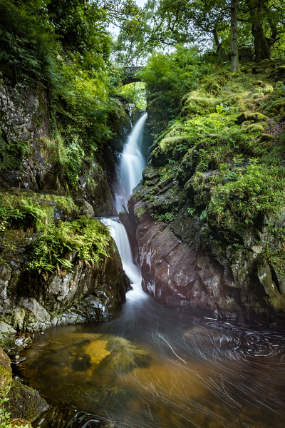 Aira Force Waterfall, Ullswater