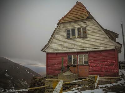 Remnants of what 'was' the world's highest ski lift....La Paz, Bolivia