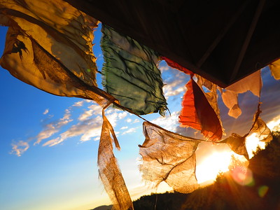 Buddhist Prayer Flags....Tara Mandala Retreat Center, SW Colorado