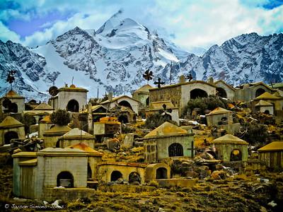Huayna Potosi Miners Graveyard....Cordillera Real, Bolivia