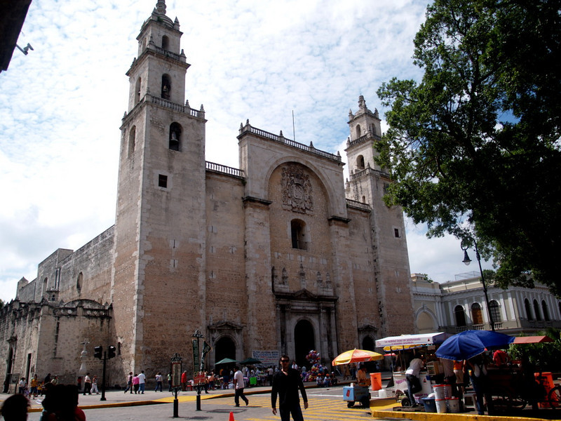 Merida<br /> Cathedral San Idelfonso