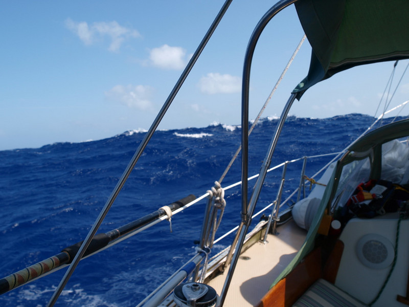 Isla Mujeres Passage<br /> Wall of Water, 10 ft waves