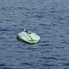 Passage to Isla Mujeres<br /> Abandoned ocean kayak
