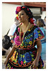 Folk Dancer - When I embarked from the ship in Puerto Vallarta, folk dancers greeted me. They have colorful, hand embroidered costumes, flowers on their hairs and dancing to lively folk music of the Mariachi band. I singled this one out for a picture because she is one of the prettiest and more fiendly to talk to or should I say she speaks and understands the English language. I do not have to describe her cothes and nice facial features. The picture is self explanatory.
