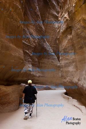 Through the Siq, Petra