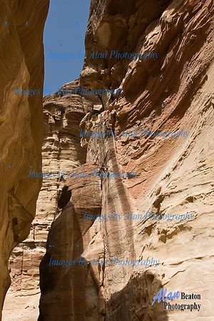 Above the Siq, Petra