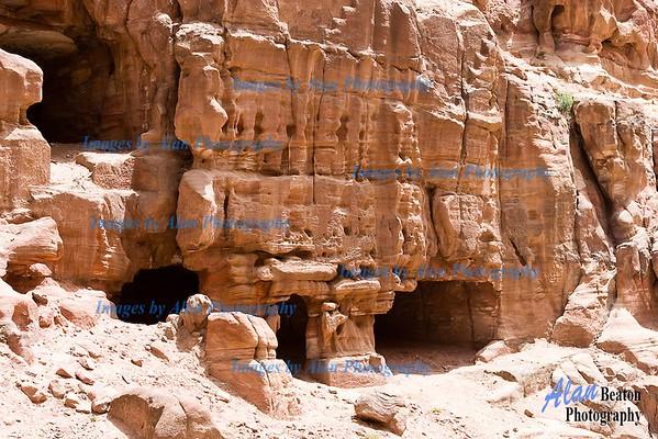 Ancient settlement beyond Petra