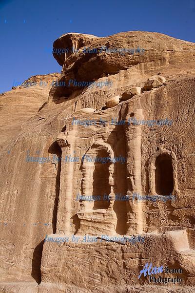 Cliffs at Petra