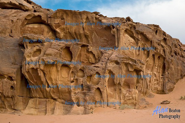 Cliffs at Wadi Rum
