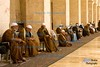 Sy19-Blind Men Praying at the Great Mosque, Aleppo