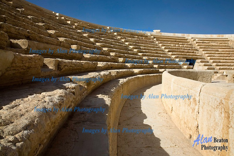 Sy34-View of the Theatre, Palmyra