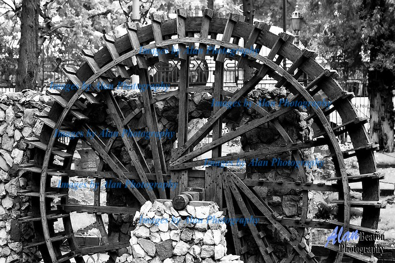 Sy01-Water Wheel, Damascus