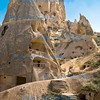Ancient mountain dwellings , Cappadocia