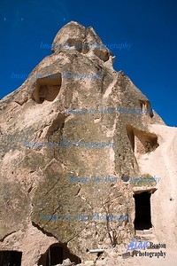 Entrance to a Cave House, Cappadocia
