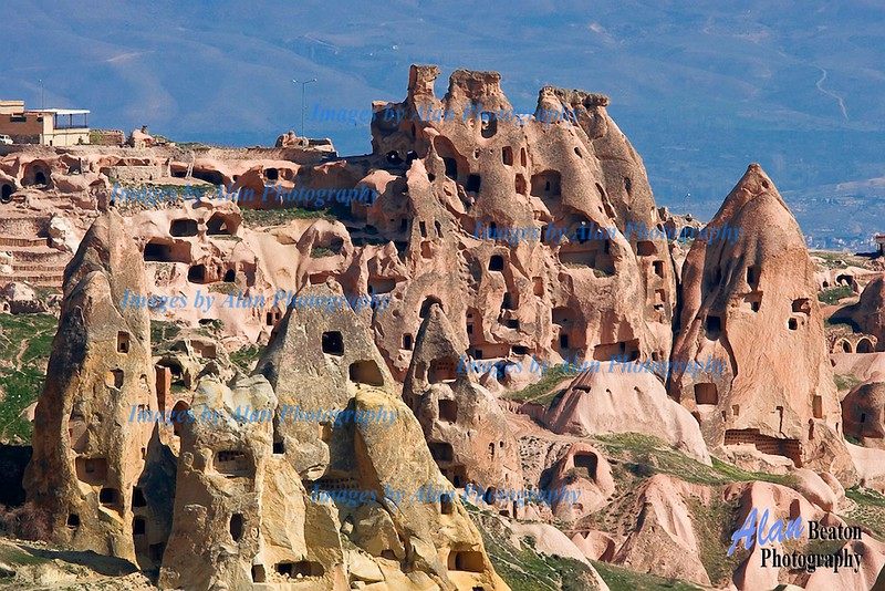 Cave houses, Uchisar, Cappadocia