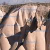 Rocky terrain, Zelve valley, Cappadocia