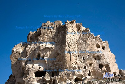 Uchisar Fortress, Cappadocia