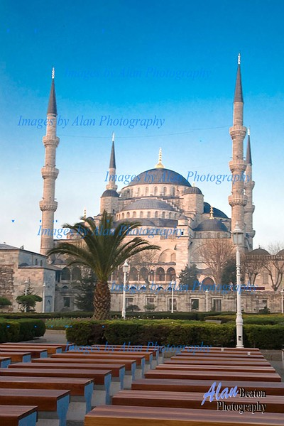 Early morning at the Blue Mosque, Istanbul