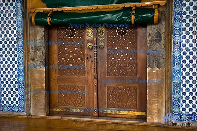 Decorative Gate, Rustem Pasa Mosque, Istanbul