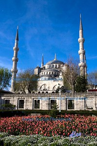 Behind the Blue Mosque