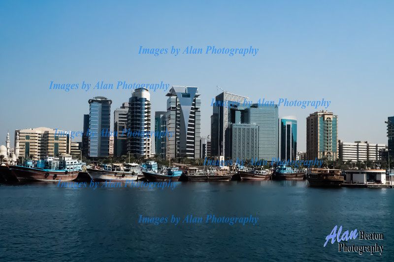 Dubai Creek Panorama