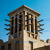 Traditional Windtowers, above Soul Madinat Jumeira, Dubai, UAE