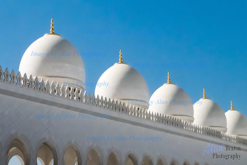 Sheik Zayed Mosque minarets, Abu Dhabi