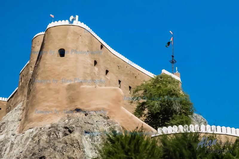 Mirani Fort, Muscat, Oman