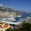 A view of the Port of Monaco as you look north towards Monte Carlo.