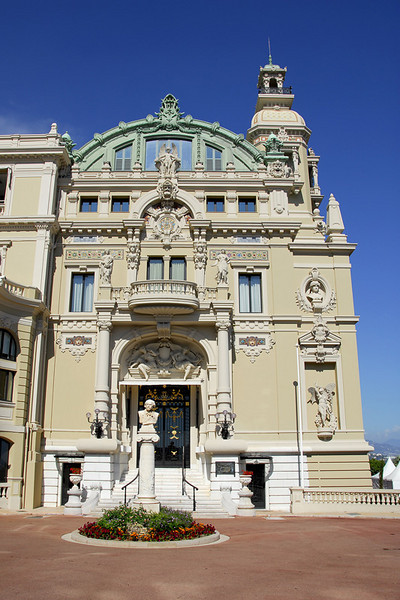 The Monte Carlo Casino's Administration Building.
