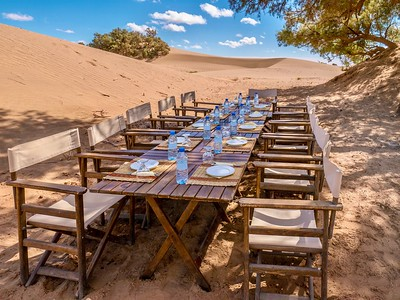 Tourism in the Sahara Desert, Morocco.