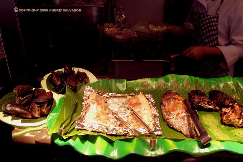 Broiled milkfish.
